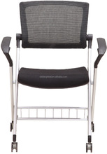 new design office and school folding training room chair with armrest