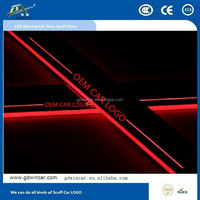 2015 new product led moving car scuff plate for Mazda 3 Axela 2014 2015 Car LED illuminated door sill plate light
