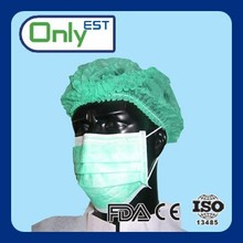 High quality pp25g+25g+25g food handling disposable 3 ply face mask china