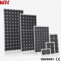 30 Watt Monocrystalline Solar Panels for Home Use