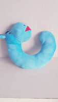 Plush stuffed toy pillow,U-shape pillow,hippo,animal head,comfortable,wholesale