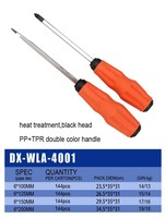 High quality Carbon Flat Steel Precision Screwdriver
