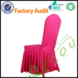 Wholesale customize spandex chair cover for hotel/wedding