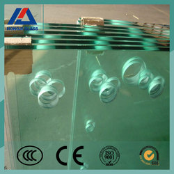 6mm tempered glass with hole