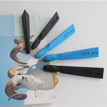 Custom logo soft silicone ball pen promotional pen