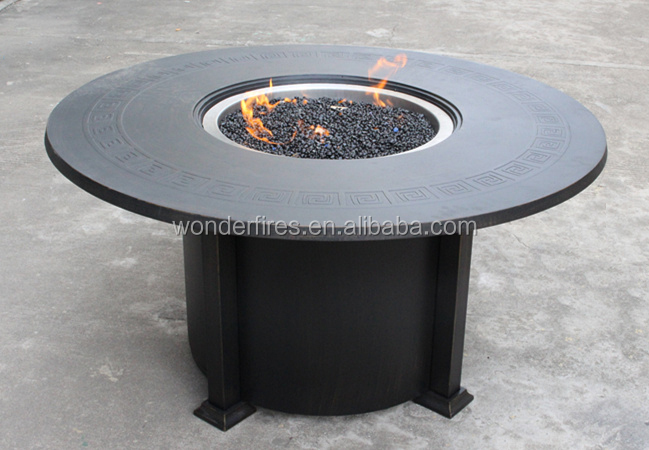 outdoor-feuerstelle tisch/terrasse gasheizung/garten feuerstelle, Hause und Garten