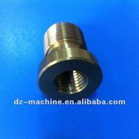 CNC machining anodized aluminum screw nut bolt made in china