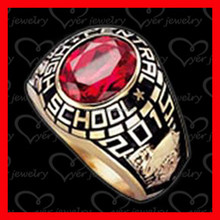 Best selling Rose Gold Class Ring For Girls and Beauty