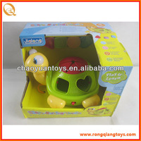 Electric Sea turtle plastic toys with light and music AN91018090