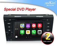 car dvd mp3 player gps navigation for old Mazda 3 with radio+mp4 player
