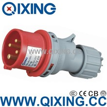 IEC60309-2 type three-phase plugs with Cable
