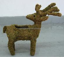 Rattan handicrafts for Chrismas decorations