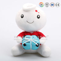 """""""I love you""""plush toys with candy gift for valentine's day"""
