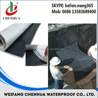 Self - adhering polymer modified bituminous sheet materials