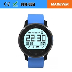 Sedentary Reminder Heart Rate Monitor Bluetooth Smart Watch