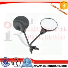 Round Type Motorcycle Parts Side Review Mirror M8 M10 M12 For Bajaj Discover Pulsar 135