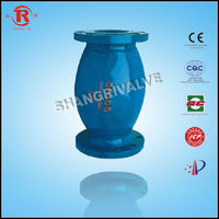 vertical ball check valve