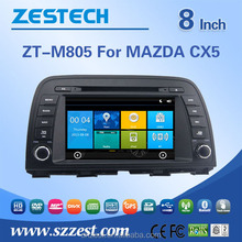 accessories for mazda cx-5 headrest dvd player with gps navigation system auto radio bluetooth tv multimedia