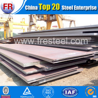 Hot rolled steel plate heat resistant steel plate