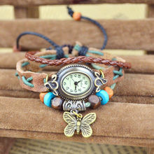 High quality products vogue watch, fashion leather bracelet vogue watch