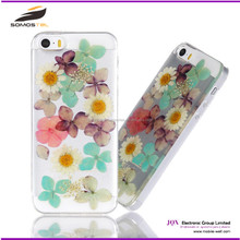 [Somostel] wholesale Dry pressed flower mobile cases cover, custom promotion gift phone case for samsung galaxy note 5 cases