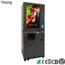 Malaysia Imported Instant Coffee Vending Machine Offer 5 Flavors Fresh Drinks