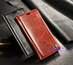 For Leather Samsung Galaxy Note5 Case With Cards Solts,For Samsung Note5 Cover