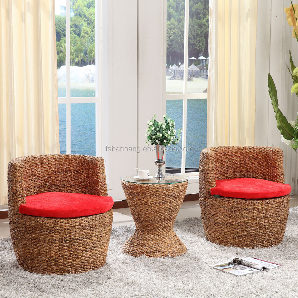 High Quality China Manufacturer Water Hyacinth Furniture