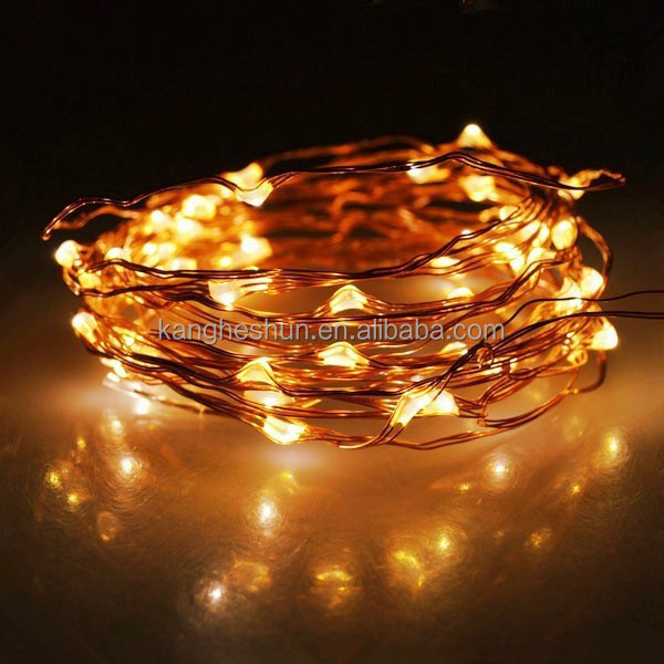 100 Leds Copper Wire 33ft Bright Light Dimmable Led String Lights - Buy Led String Lights ...
