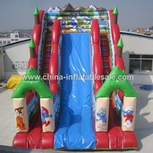 Factory Supply Catroon Character large inflatable slide H2-0972