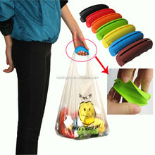 Customization Easy Carrying Pocket Plastic Bag Handle Carrier
