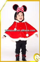 Wholesale Candy Red Girls Christmas Clothes Children /Christmas Clothes Kids