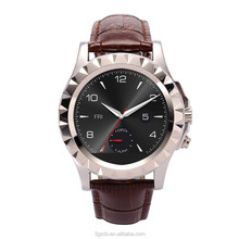 Android smart watch leather wifi smart watch Heart Rate Monitor watch phone 2015