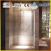 Classic walk in shower enclosure 8mm safety glass best selling in EU market