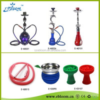 China Shisha Hookah Factory Metal Water Smoking Pipe