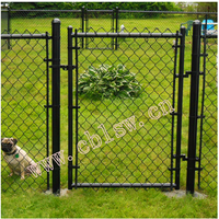 portable strong welded hexagon wire mesh cheap dog kennels