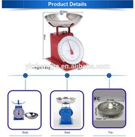 dial mechanical platform scales,manual kitchen weighing scale
