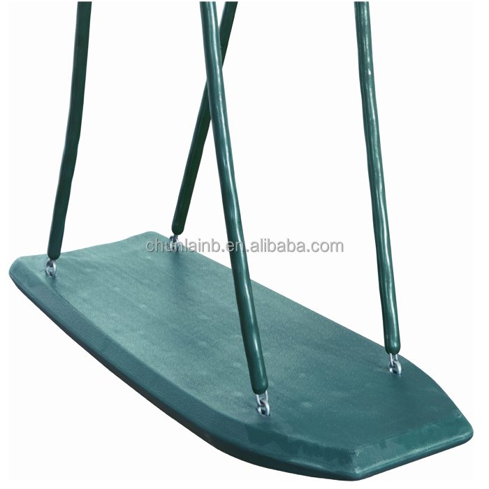 plastic swing set standing up swing surfboard swing for