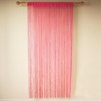 simple product decoration string curtain for living room