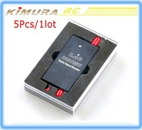Wholesale 5Pcs FPV 2.4G 2W 2000mW Mini Radio Signal Booster For DJI Phantom Long Distance Remote Control Extend Range Expander