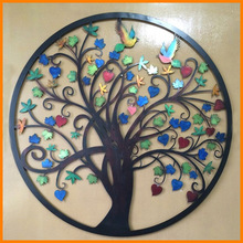 Manufacturers of high-quality supply of hot new fine iron wall tree tree minimalist modern style exquisite wall hangings