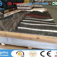 GB Standard Alibaba express 1mm 304 8k surface stainless steel plate