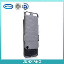 High quality hard shell mobile phone case for ipod touch 5 with kickstand