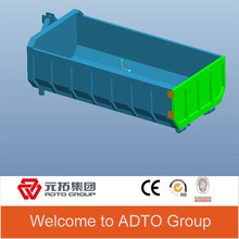Hot sale container truck box body for construction waste management from china factory