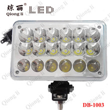 High bright 54W LED WORKING LIGHT for Truck High Car Led Motorcycle Off Road Led Work Light lamps