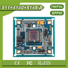 "(PAL)High-definition chip board Effio-e 4140+811 700TVL 1/3 ""Sony CCD CCTV Board for Surveillance Camera"
