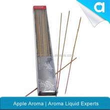 Alta calidad fragancia incienso venta al por mayor / incienso ecológico palillos con palo de bambú con diferentes color