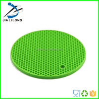 Heat resistant silicone coffee pot mat