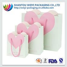 Custom print extra large gift paper shopping bag