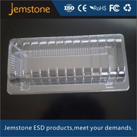 high quality transparent disposable plastic box for food packing